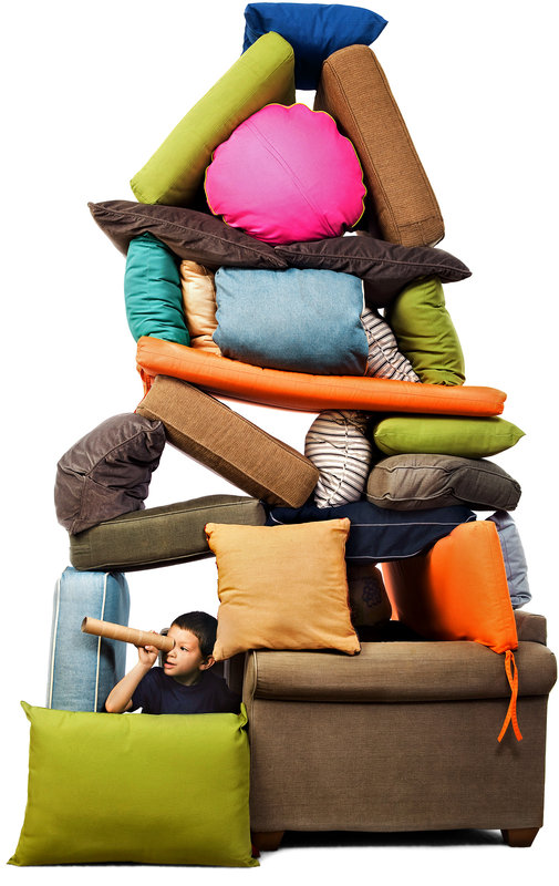 4 Tips For Building The Ultimate Pillow Fort