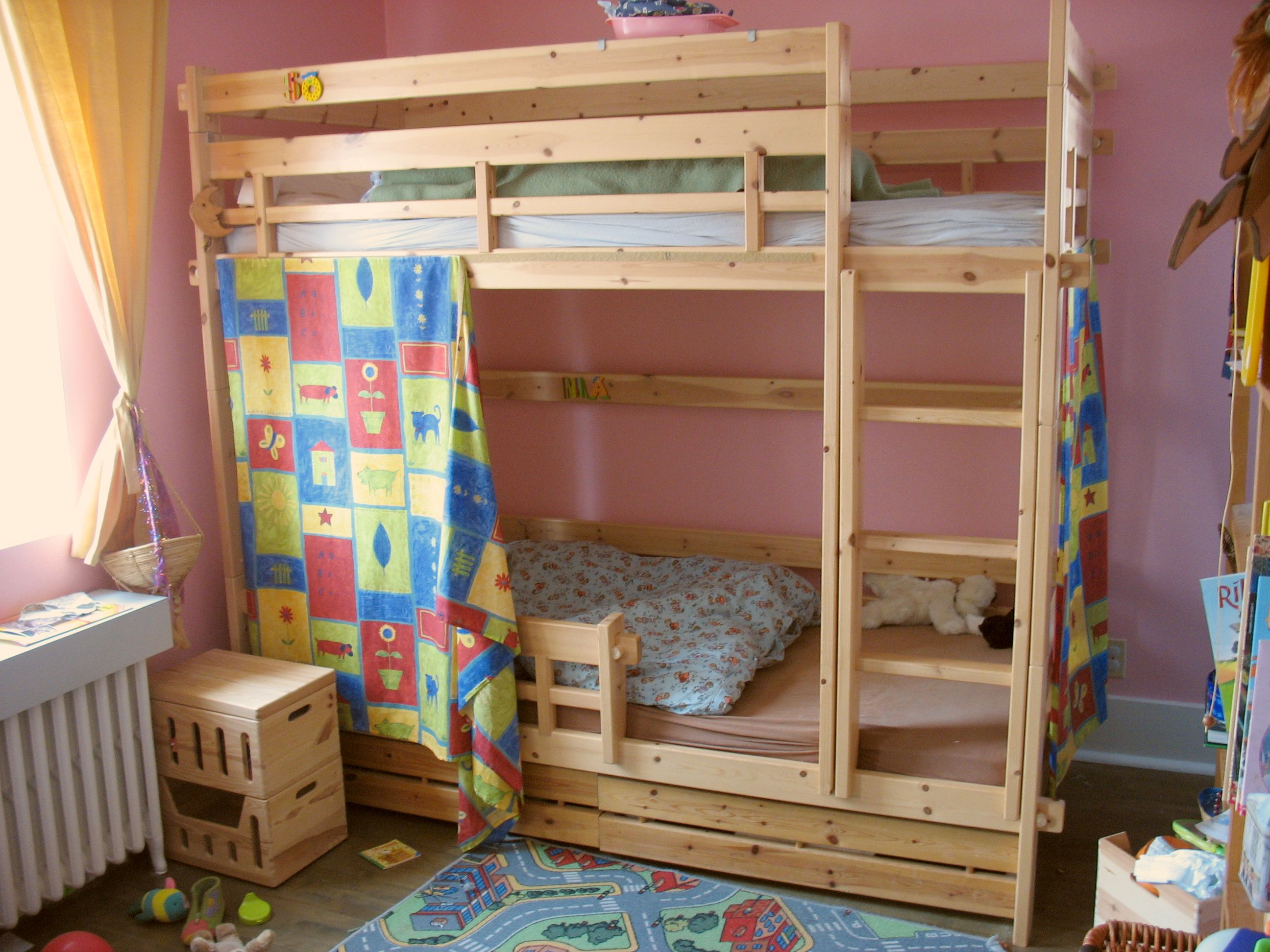DIY Bunk Beds for Kids 2592 x 1944