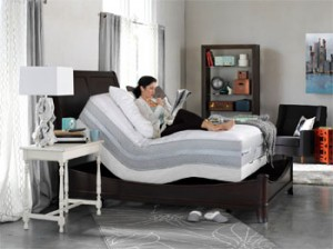 with an adjustable bed you can be more comfortable and solve health problems